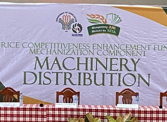 Rice Competitiveness Enhancement Fund RCEF Farm Machineries Distribution in the Province of Cagayan