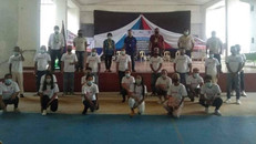 Graduation Ceremony of 100 farmers from different Barangays