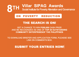 2020 Villar Sipag Awards on Poverty Reduction