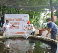 Opening Program on Fresh Water Aquaculture with the Bureau of Fisheries and Aquatic Resources (BFAR)