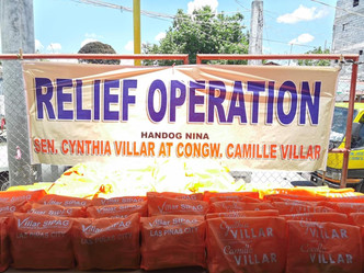 RELIEF OPERATION OF FIRE VICTIMS