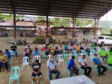Turn over of Farm Machineries for LGU of Tayasan, NegrosOriental and Pinocawan Farmers Assoc.