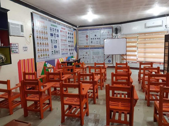 50pcs plastic chairs from the VillarSipag  to Santikan Elementary School, San Dionisio, Iloilo