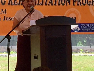 SAGIP BUKAS: A Community-based Drug Rehabilitation Program Opened in Villar SIPAG Farm School in San