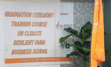 Graduation Ceremony - Training Course on Climate Resilient Farm Business School