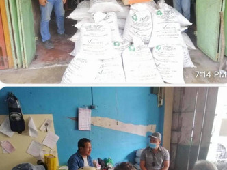 Turnover of Vegetables seeds & Organic Fertilizer from VILLARSIPAG to Negros Organic Agri Movement