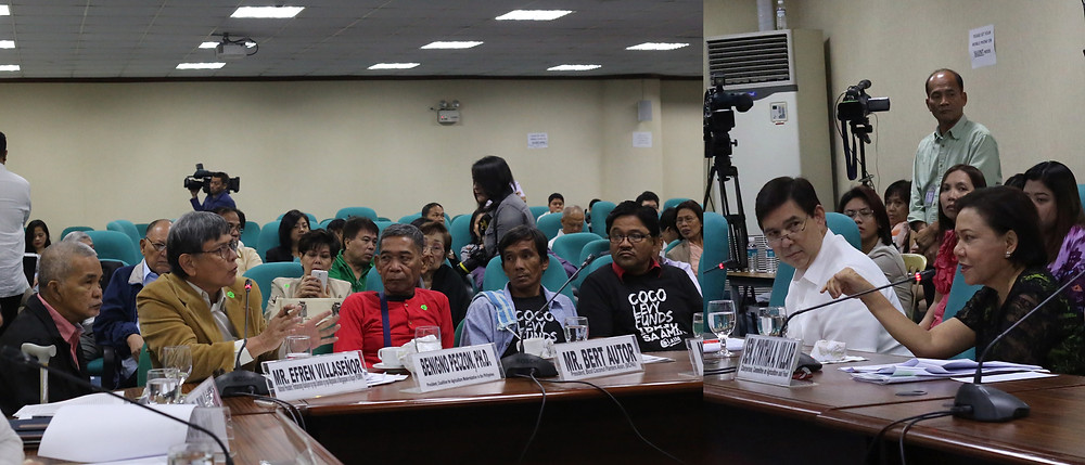 Coco Levy Fund Hearing