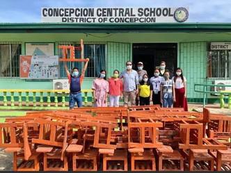 40 KA 'PLASTIC SCHOOL CHAIRS' GIN-TURNOVER SANG LGU CONCEPCION, ILOILO  SA CONCEPCION CENTRAL SCHOOL