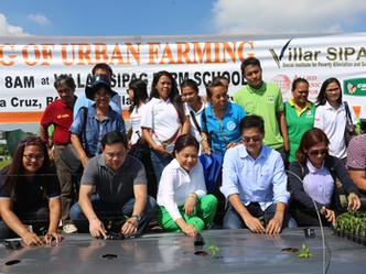 Launching of Urban Farming