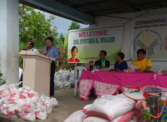 Relief Assistance Delivered to Cebu Towns