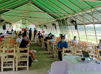 Day 3 RCEF Mechanization and Quality Inbred Rice Seeds Production at VillarSIPAGFarmSchool Bacoor Ci