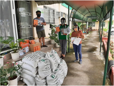 Turned over of Vegetable Seeds, Organic Compost Fertilizer and Notebooks for Brigada Eskwela