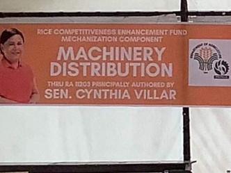 Awarding Ceremony of Farm Machineries by DA-PhilMech for the 5th District Province of Pangasinan