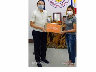 Turnover of Different Variety of Seeds from Sen. Cynithia Villar to Province of Bohol