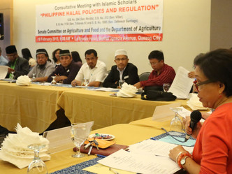Halal Committee Report Adopted by Congress