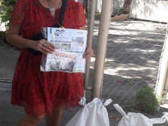 Turned over of Vegetables seeds & Organic Fertilizer from Senator Cynthia Villar to Las Piñas City
