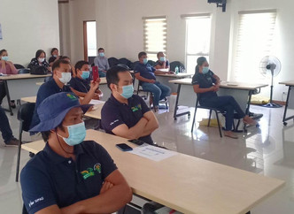 Presentation of Learnings at the High Quality Inbred Rice Seeds Production by Future Trainors' @