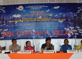 Committee on Agri and Food Holds Public Hearings in GenSan