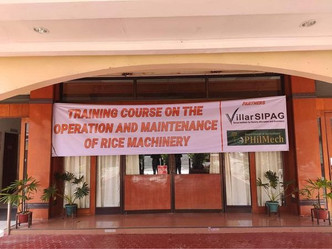 Training Course on the Operation and Maintenance of Rice Machineries