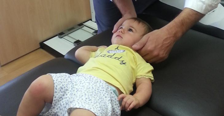 quiropráctica en niños