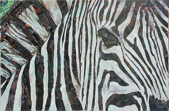 Artist:  Sriharsha Sukla, Title: Zebra 2