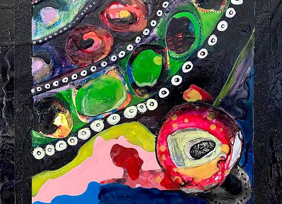 Artist: Joseph Lazaro Rodriguez, Title: Camino Celular (Lower Right)