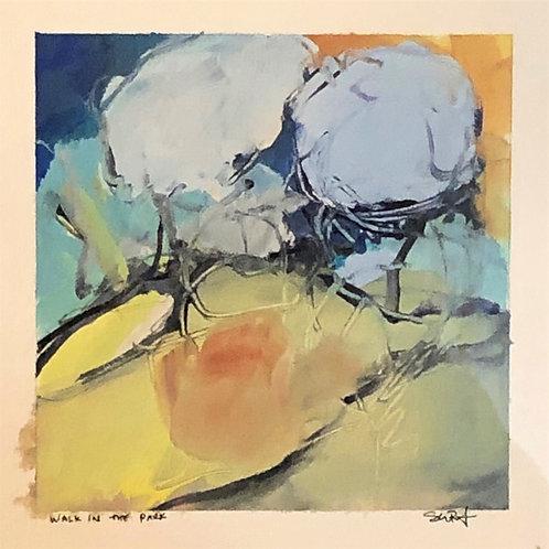 Artist: Sarah Baptist, Title: Walk in the Park