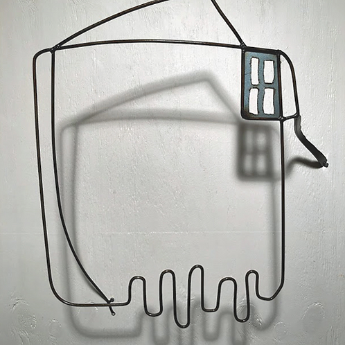 Artist: Lisa Fedon, Title: Balconies