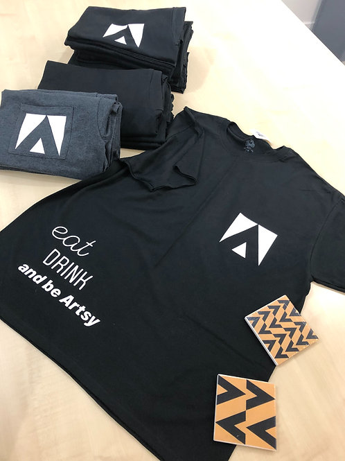 Eat, Drink & be Artsy Limited Edition T-shirt