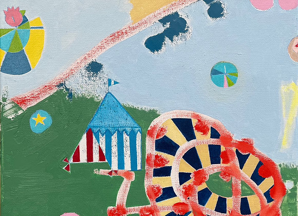 Artist: Constance Culpepper, Title: field test: circus