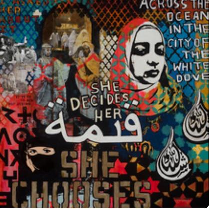 Artist: Juliana Coles, Title: She Chooses