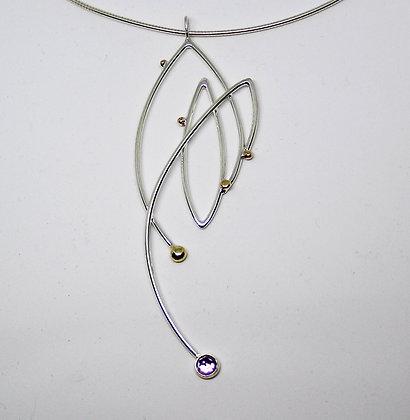 Artist: Joy Raskin, Title: Deco Pendant (JR 05)