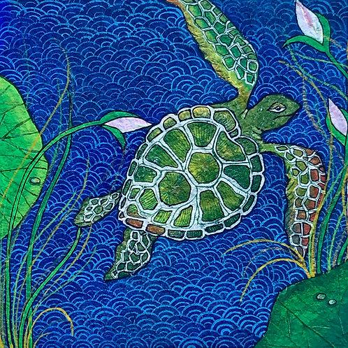 Artist: Rinal Parikh, Title: Turtle