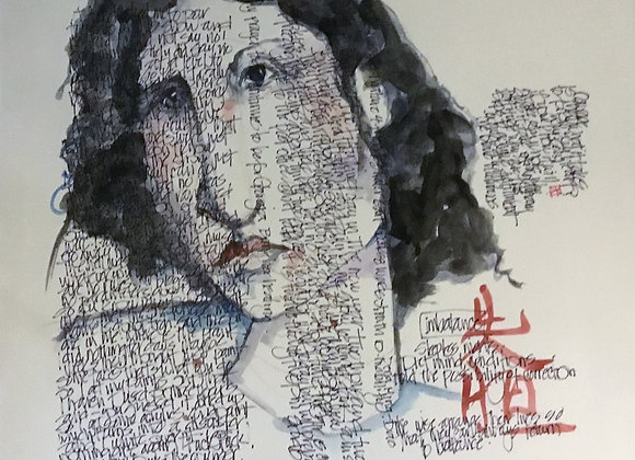 Artist: Mary Lou Jenkins, Title: Imbalance, Journal Series