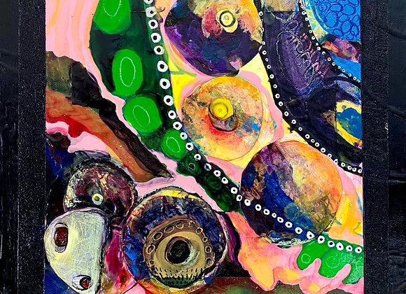 Artist: Joseph Lazaro Rodriguez, Title: Camino Celular (Lower Left)