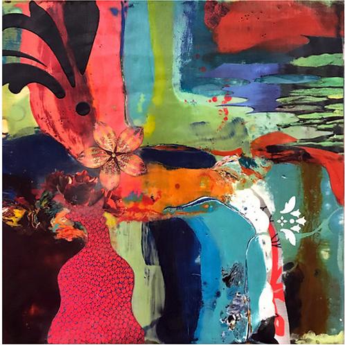 Artist: Lorraine Glessner, Title: Spilling Over