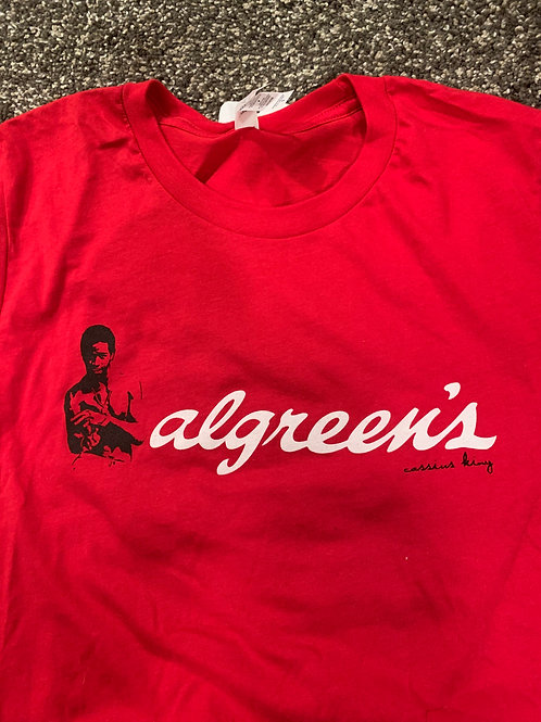 Artist: Cassius King, Title: Algreens Red T