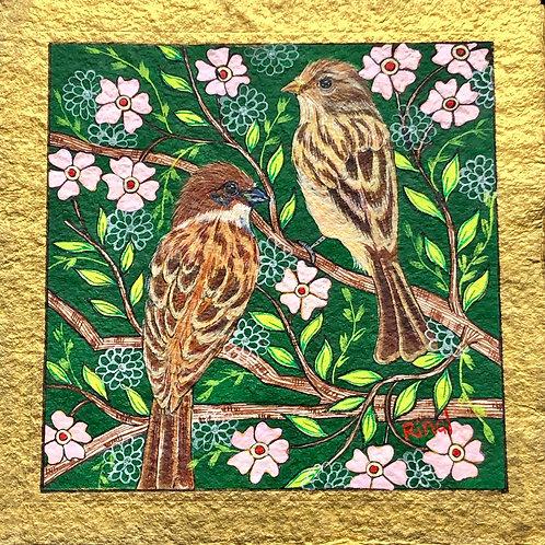 Artist: Rinal Parikh, Title: Sparrows