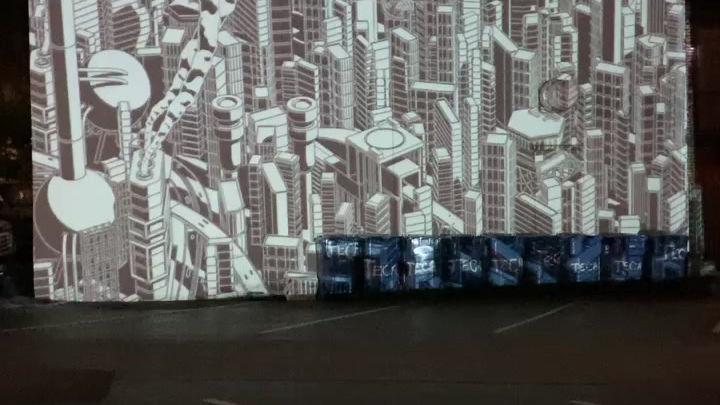 """""""Escher Projection Video"""""""