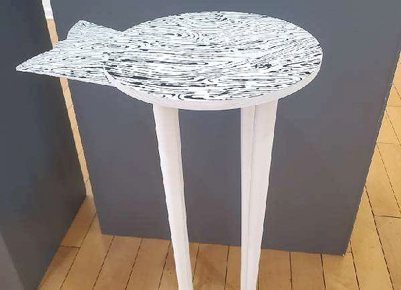 Artist: Kate Stewart, Title: Milkmaid's Side Table