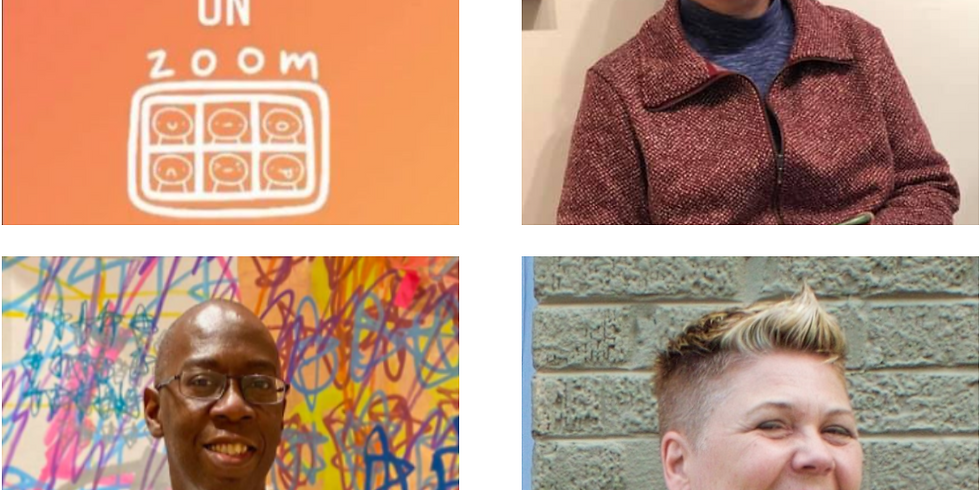 Artist Talk Tuesdays on ZOOM at 3pm: Sarah Baptist, Tim McFarlane & Teresa Shields