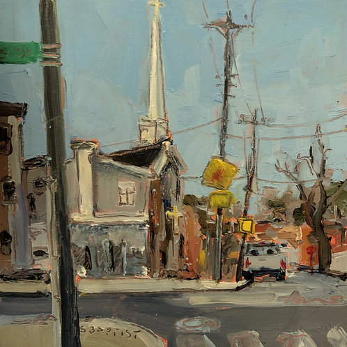 Artist: Sarah Baptist, Title: City Church