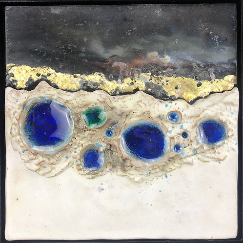 Artists: Mike & Rhoda Kahler, Title: Collaboration #1