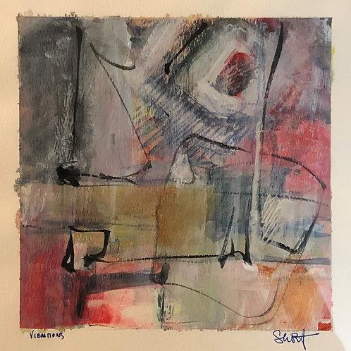 Artist: Sarah Baptist, Title: Vibrations