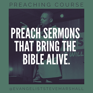 Preach sermons that bring the bible alive