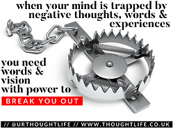 Thought Life daily devotional break out of negative thinking