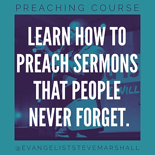 Preaching course - preach sermons that people never forget