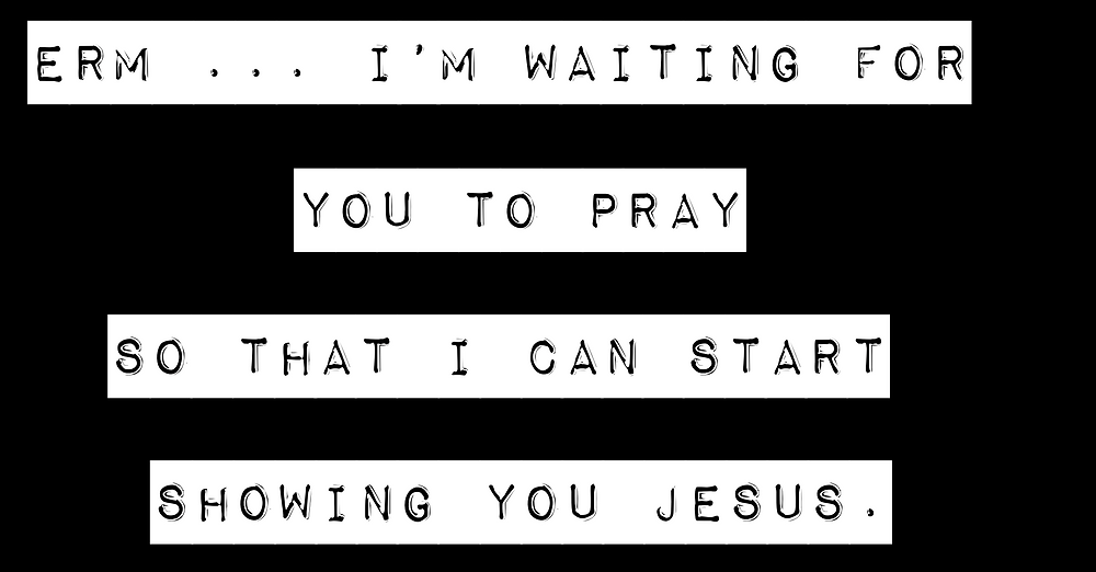 Follow-up Waiting For You To Pray