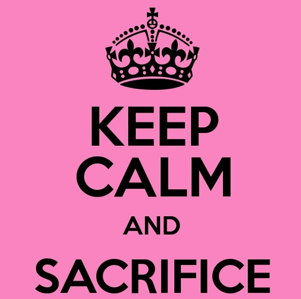 Follow-up Keep Calm And Sacrifice