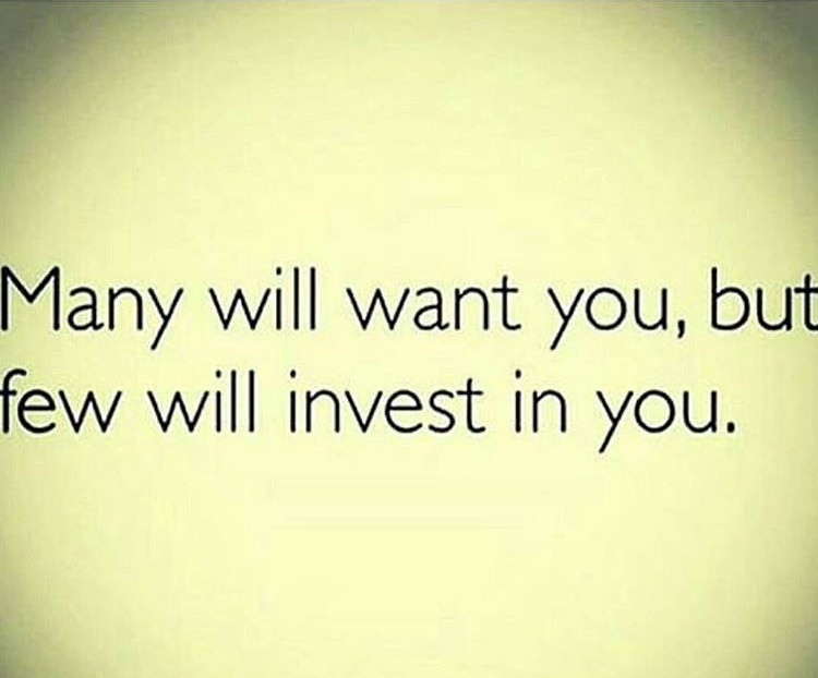 Follow-up Few Will Invest In You
